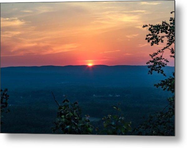 Sunset Over Easthampton Metal Print