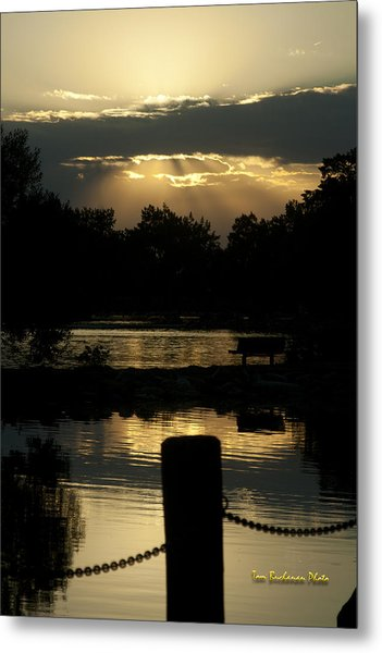 Sunset Over Henderson Metal Print
