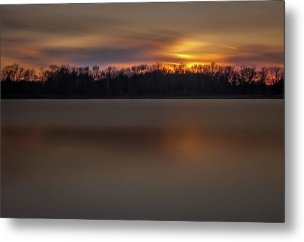 Sunset Over Little Sugarloaf II Metal Print