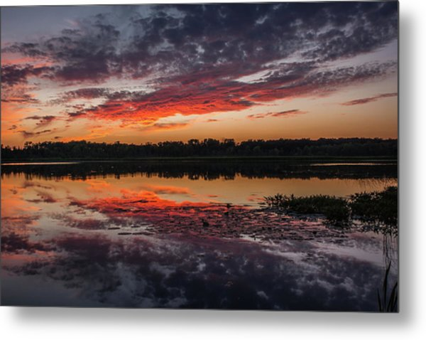 Sunset Over Little Sugarloaf Metal Print