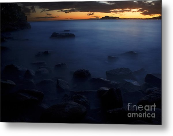 Sunset Over Portlock II Metal Print