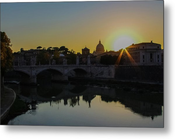 Sunset Over St Peters Metal Print
