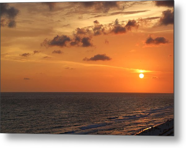 Sunset Panama City Florida Metal Print