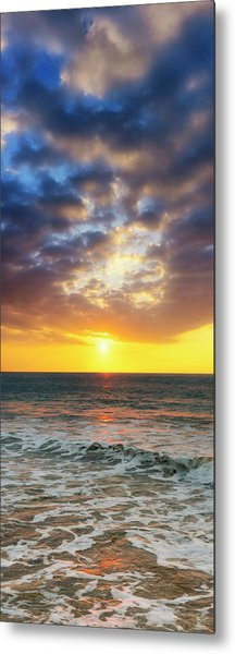 Sunset Panorama Metal Print