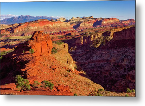 Sunset Point View Metal Print
