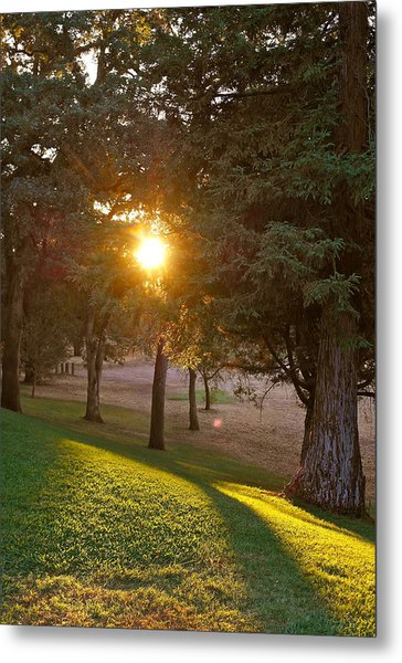 Sunset Retreat Metal Print