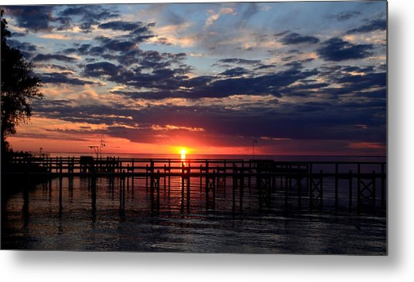 Sunset - South Carolina Metal Print