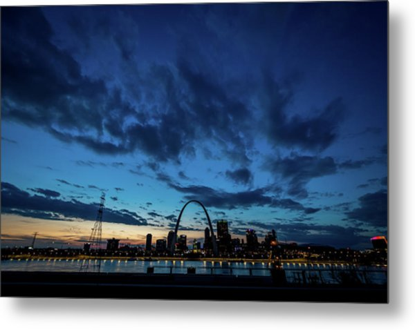 Sunset St. Louis IIi Metal Print