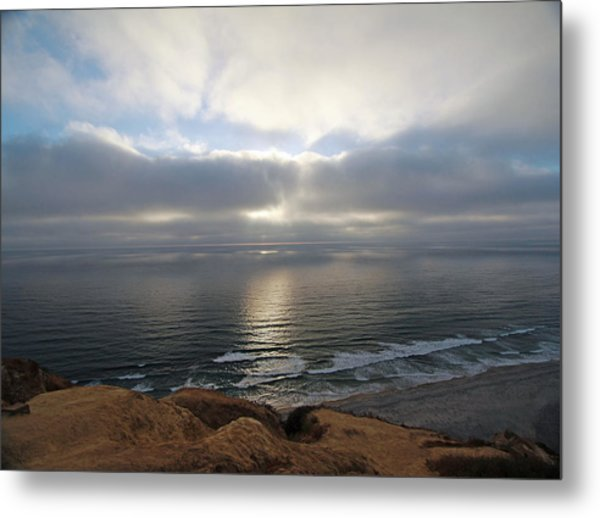 Sunset Torrey Pines Number One Metal Print