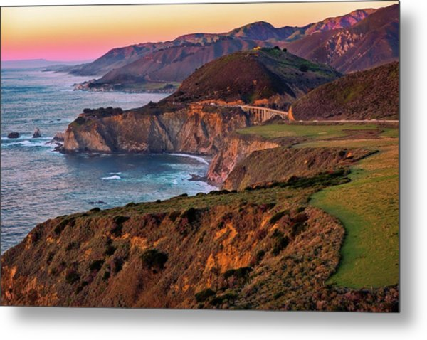 Sunset View From Hurricane Point Metal Print