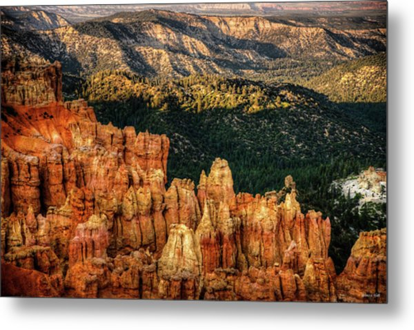 Sunsets In The Canyon Metal Print