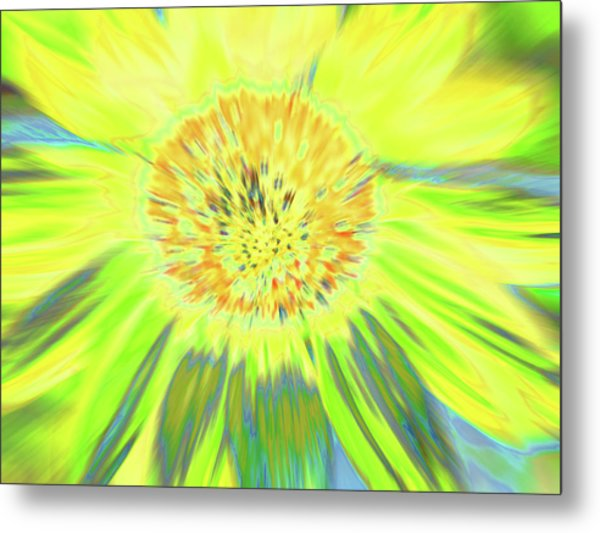 Sunshake Metal Print