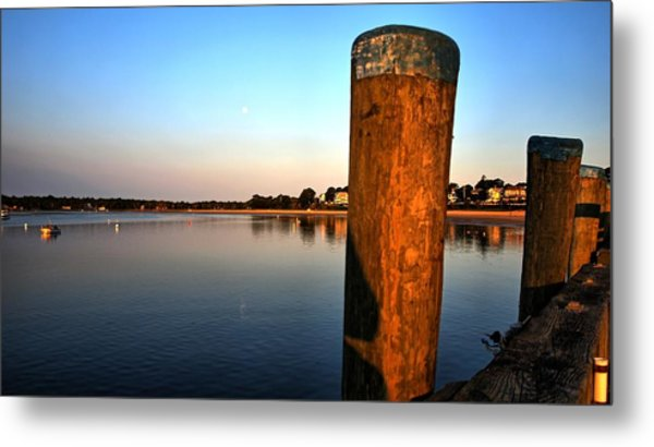 Sunshine On Onset Bay Metal Print