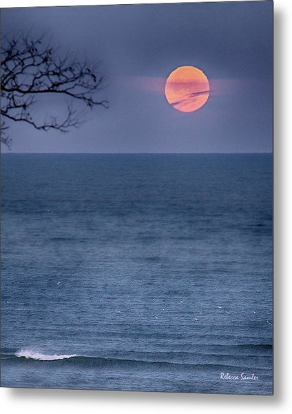 Super Moon Waning Metal Print