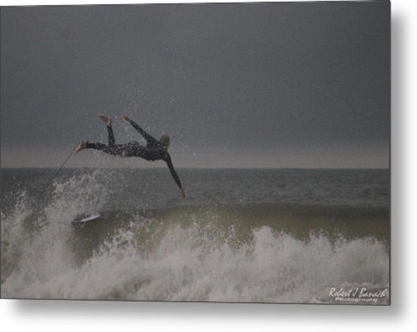 Super Surfing Metal Print