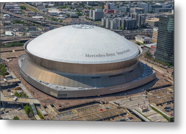 Superdome Metal Print