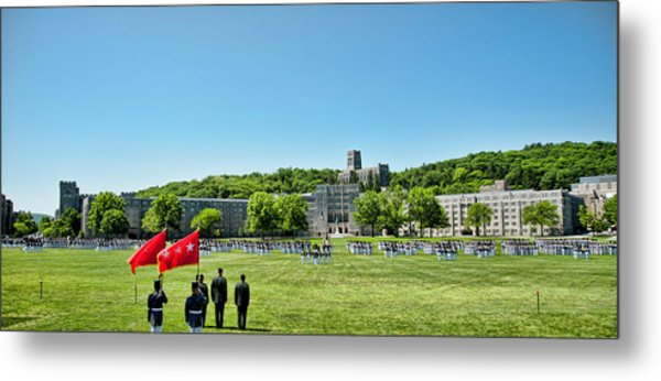 Superintendent's Review Wide Angle Metal Print