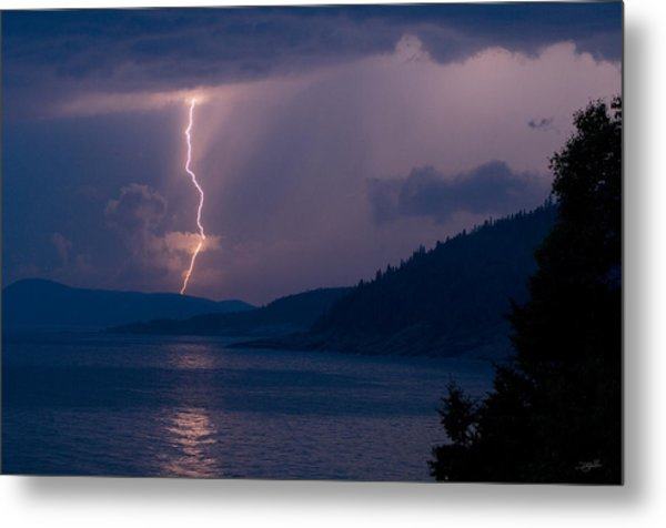 Superior Lightning     Metal Print