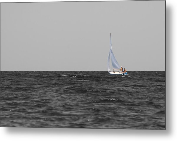 Metal Print featuring the photograph Superior Sailing by Dylan Punke