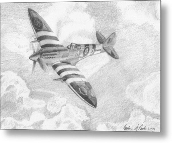 Supermarine Spitfire Military Aircraft Art Print by Stephen Rooks