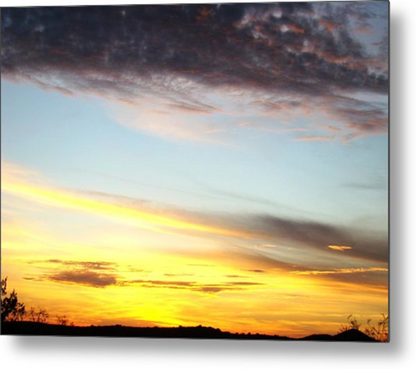 Supernatural Sunset One Metal Print by Ana Villaronga