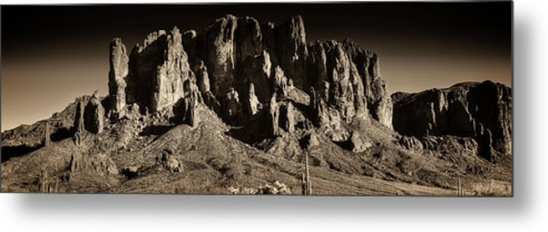 Superstition Mountain  Metal Print