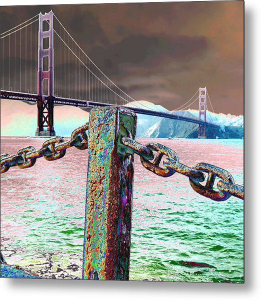 Supporting Post Metal Print