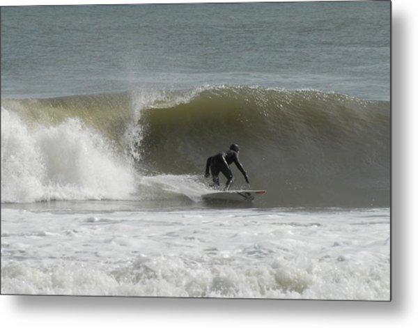 Surfing 113 Metal Print by Joyce StJames