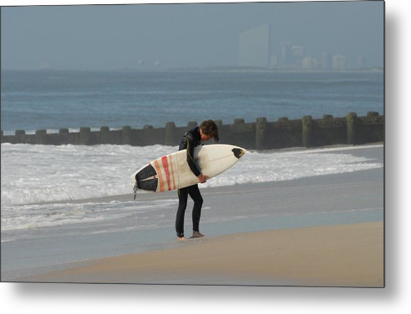 Surfing 116 Metal Print by Joyce StJames
