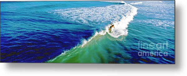 Surfs Up Daytona Beach Metal Print