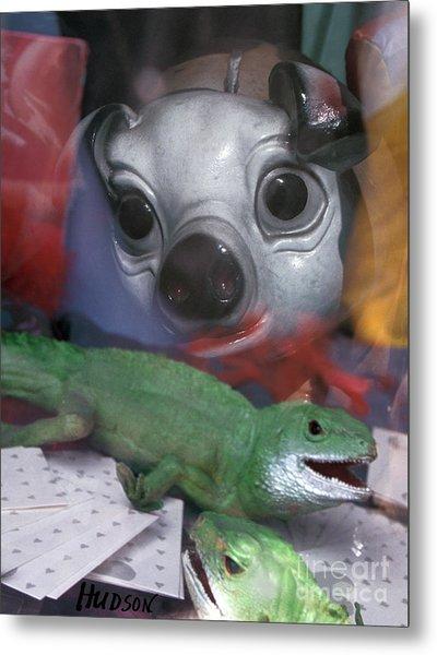 surreal animals fantasy art - Animal House Metal Print