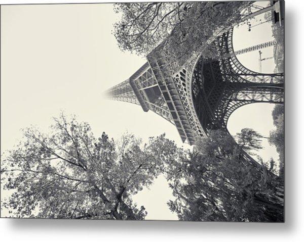 Surrealistic Tower Metal Print