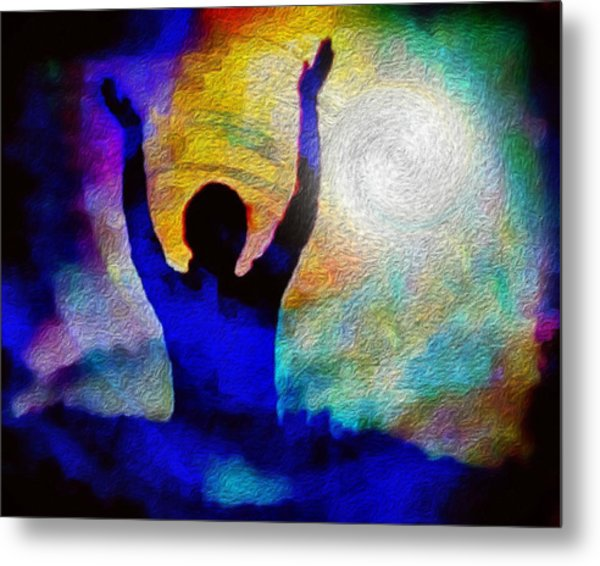 Surrender To Light Metal Print