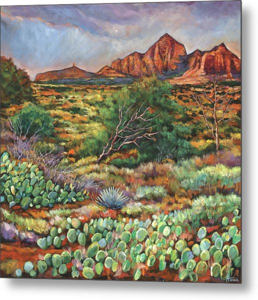 Surrounded By Sedona Metal Print