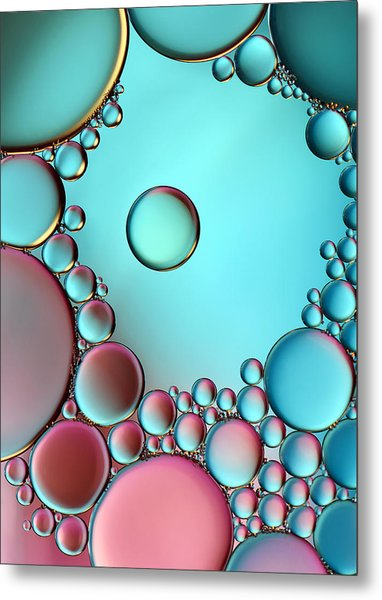 Surrounded Or Protected ? Metal Print