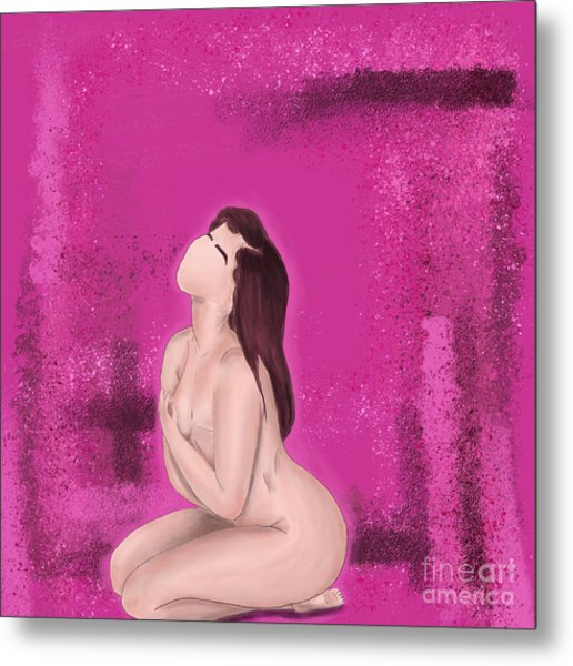 Metal Print featuring the digital art Survivor by Bria Elyce