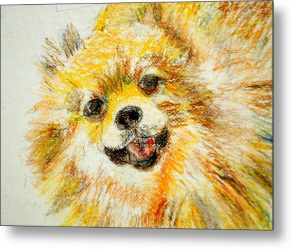 Sushi Metal Print by Lessandra Grimley