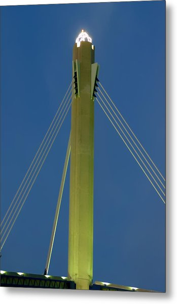 Suspension Pole Metal Print