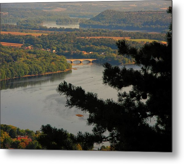 Susquehanna River Below Metal Print