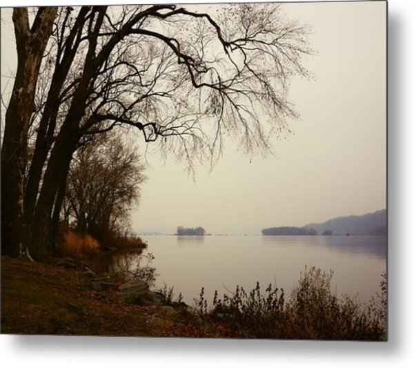 Susquehanna River Near Veterans Memorial Bridge Metal Print