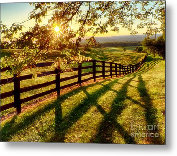 Sussex County Sunset Metal Print
