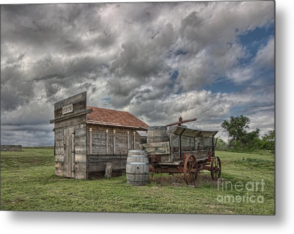 The Sutler's Store Metal Print