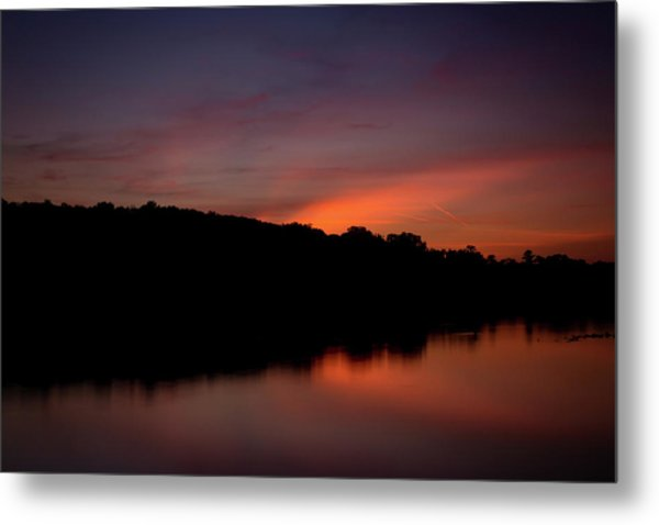 Suwannee Sundown Metal Print