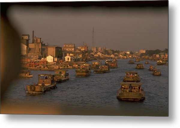 Suzhou Grand Canal Metal Print