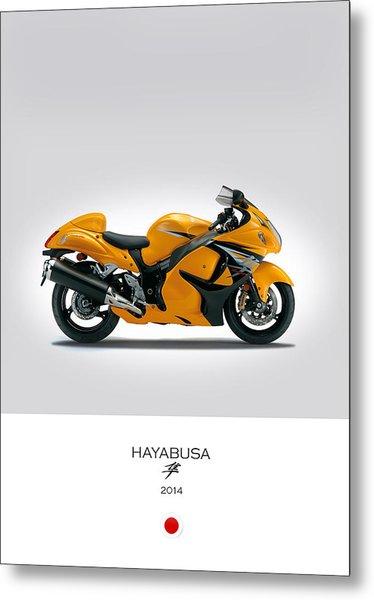 Suzuki Hayabusa 2014 Metal Print
