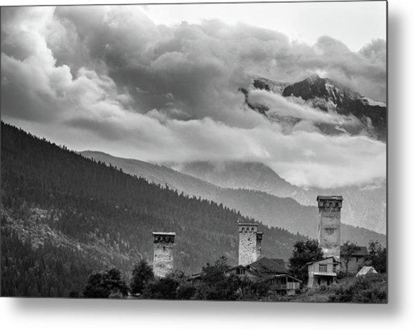 Svan Towers Metal Print