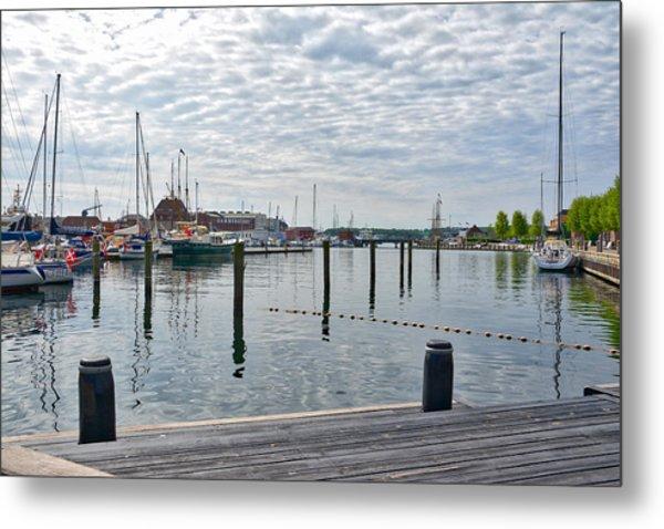 Svendborg Harbour Metal Print