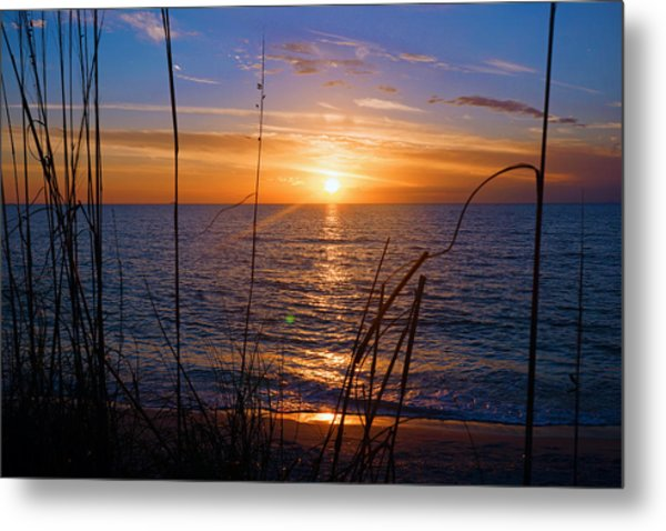 Sw Florida Sunset Metal Print