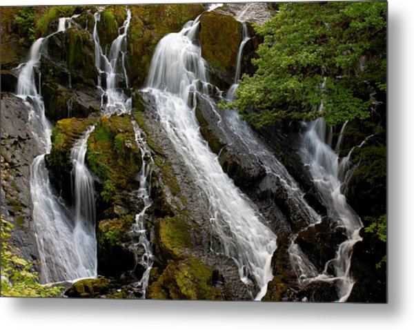 Swallow Falls Metal Print