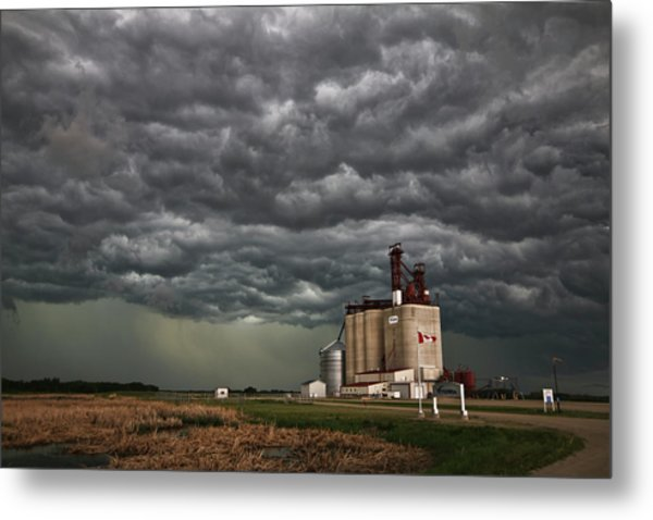 Swallowed By The Sky Metal Print